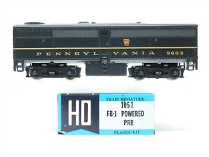 HO Scale Train Miniature 1051 PRR Pennsylvania Railroad FB-1 Diesel #9603