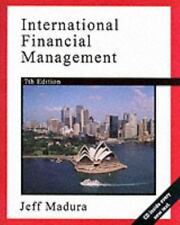 International Financial Management (Book and CD, Seventh Edition), Madura, Jeff,