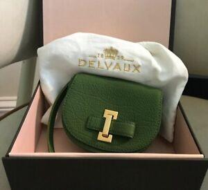 Delvaux La Mitin Card Case. New In Box *Authentic*