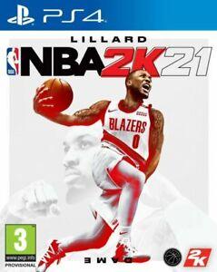 NBA 2K21 PS4 New Sealed