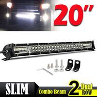 """20"""" 540W LED phare de travail Feux rampe de toit barre de 4x4 offroad light bar"""