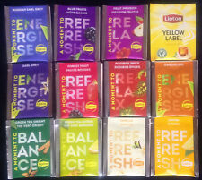 """LIPTON"" Selection Pack tea 12 Different  Enveloped Bags"