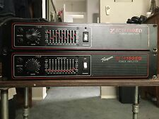 2 yorkville Beta 150 10 band EQ rackmont power amplififiers,mint conditioned