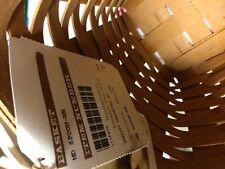 Longaberger Medium Spoon Basket in Warm Brown Stain - New