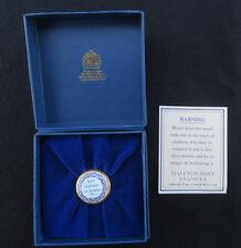 Halcyon Days Enamel Never Economise on Luxuries Mini Small Trinket Pill Box