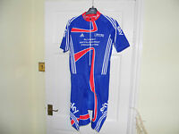 SKY Adidas Team GB Olympic Rider Issue cycling SS skinsuit padded bike shorts