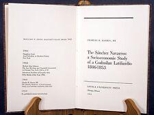 Mexico History 1846-1853 - Legendary Sanchez Navarro Hacienda - Hardback Book