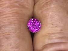 None (No Enhancement) Oval Pink Loose Natural Sapphires