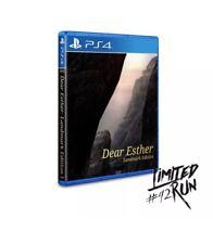 DEAR ESTHER Landmark Edition BOXED Limited Run PS4 SEALED Region-FREE Dear Esthe