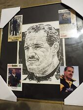 Bill Cowher Pittsburgh Steelers Coach Limited Edition Framed Print