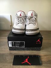 Nike Air Jordan 3 White Cement UK 11