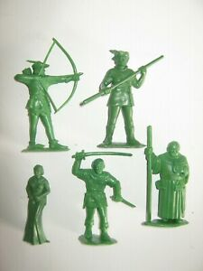 Marx robin hood 60 mm recasts 9 in 9 poses made 1980's excellent condition set 1