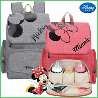 Diaper Bag Backpack Mickey mouse Baby Minnie Mouse Large Capacity Nursing Mom