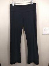 Lululemon Athletic Exercise Gym Long Black Pants leggings Size 8