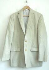 LAUREN RALPH LAUREN Mens Cream Tan Blazer Sport Coat Size 40L