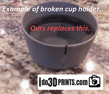 98-02 New Custom 3d printed black New Beetle Cup holder replacement 1C0862531A