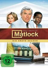 MATLOCK S1 (ANDY GRIFFITH, NANCY STAFFORD, KENE HOLIDAY,...) 7 DVD NEU