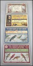 Birds Collectable Paper Ephemera