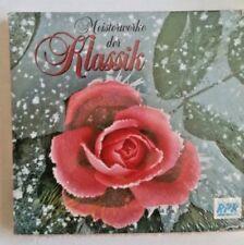 MEISTERWERKE DER KLASSIK - 1998 MUSICLINE  3 MUSIC CD SET Factory Sealed G789