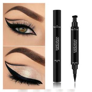 Black Eyeliner Vamp Pen Seal Eye Liner Stamp Winged Head Makeup Tool Waterproof