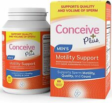 Conceive Plus Motility Support 60 Vegetarian Soft Capsules