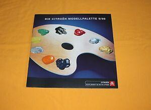 Citroen Saxo Xsara Xantia XM Berlingo 1999 Prospekt Brochure Depliant Catalog