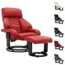 vidaXL Sillón de Salón Relax Reclinable de Cuero Sintético Diferentes Colores