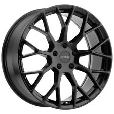 "4-Petrol P2B 15x7 4x100 +40mm Gloss Black Wheels Rims 15"" Inch"