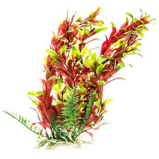 "Aquatop Red/Green Hygro-Like 12"" Aquarium Plant w/ Weighted Base (PD-BH13)"
