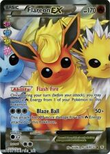 Radiant Collection RC28/RC32 Flareon EX Rare Ultra Holo Mint Pokemon Card
