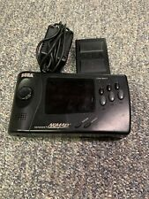 WORKING SEGA NOMAD WITH BATTERY PACK AND CHARGER! RARE PORTABLE GENESIS!