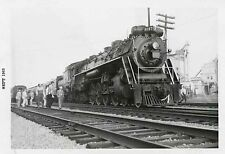 7D365 RP 1963 CN CANADIAN NATIONAL RAILROAD ENGINE #6167 WINDSOR ONTARIO