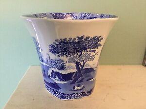Spode Blue Italian Vase