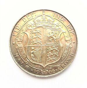 Edward VII Halfcrown   1902  Uncirculated