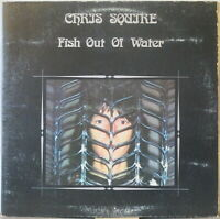 CHRIS SQUIRE Fish Out of Water LP Top 1970s Prog—ex-YES w/ Bruford, Moraz