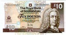 Scotland  10 pounds Commemorative Banknote UNC Diamond Jubilee 2012