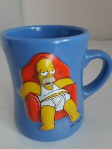 Homer Simpson - Without TV It's Hard To Tell.. 3D Raised Relief Weighty Mug 2003