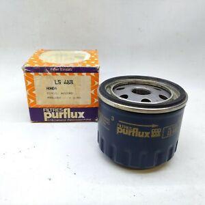FILTRO OLIO HONDA CIVIC - ACCORD - PRELUDE DAL 1/80 PURFLUX PER 025914300