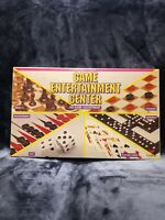 Cardinal Game Center 6-Game Set Chess Checkers Backgammon Dice Dominoes Cards