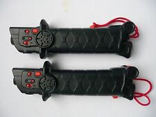 2 Tomy Battroborg Warrior Battling Robot Replacement Remote Controls only!