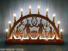 2D Schwibbogen Lichterbogen 66 x 44 cm 16 flammig Original Erzgebirge 10523
