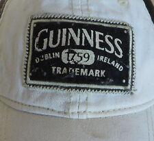 10c74f0c1eb Guinness Beer Dublin Ireland Distressed Snapback Cap Hat
