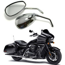 Long Stem Motorcycle Side Mirrors For Kawasaki Vulcan VN 1700 1600 1500 Custom H