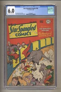 Star Spangled Comics 58 (CGC 6.0) OW/W pages; Simon & Kirby; DC; 1946 (j#5632)