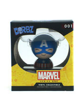 Funko Dorbz Captain America Vinyl Figure #001 Series 1 Marvel Comics New In Box