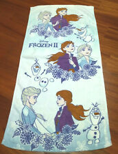 Disney Froze Hand Towel, Face Towel, 34x74cm, Cotton, Ideal for Kids (Brand New)