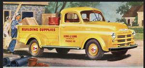 1948-1953 Dodge B Series Truck With 3 Piece Rear Window Master Weatherstrip Kit!