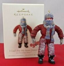 New! Hallmark I CAN'T PUT MY ARMS DOWN! Randy~A Christmas Story 2007 Ornament