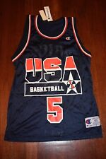 Vintage NEW Mark Price Champion USA Olympic Basketball Jersey Size 40 Medium