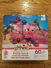 "NEW LALALOOPSY glitter puzzle 60 pcs. SAHARA MIRAGE 15"" x 11""  AGE 4+ NIB jigsaw"